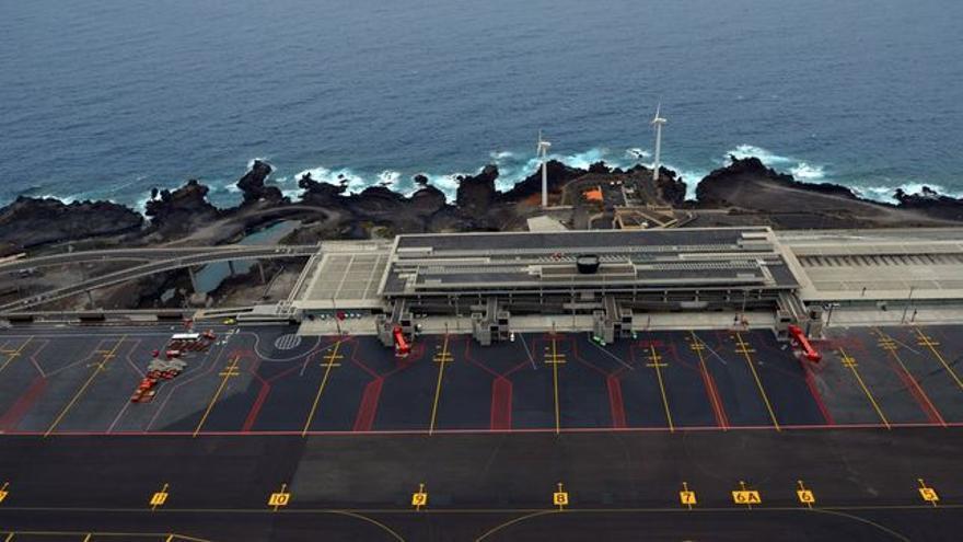 En la imagen, Aeropuerto de La Palma.