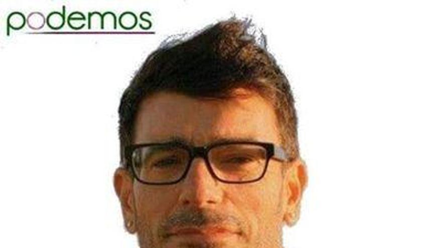 Julio Concepción, consejero insular de Podemos en el Cabildo de Tenerife