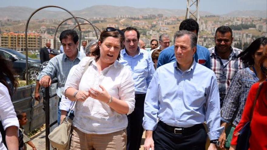 México reitera su apoyo a los refugiados sirios en el Líbano
