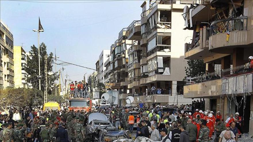 Irán acusa a Israel de los atentados suicidas en Beirut
