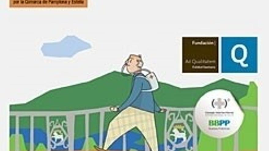 La guía navarra de paseos para pacientes con EPOC, seleccionada por el Ministerio de Sanidad como modelo de referencia