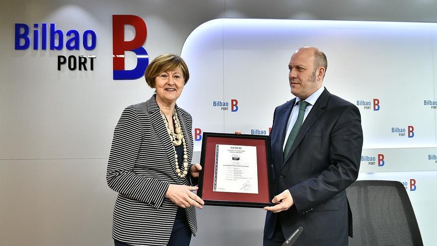 La Autoridad Portuaria de Bilbao, primera entidad portuaria certificada por Aenor como Empresa Saludable