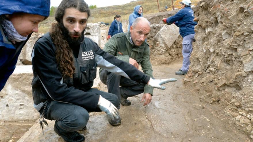 Excavaciones en Valeria (Cuenca)