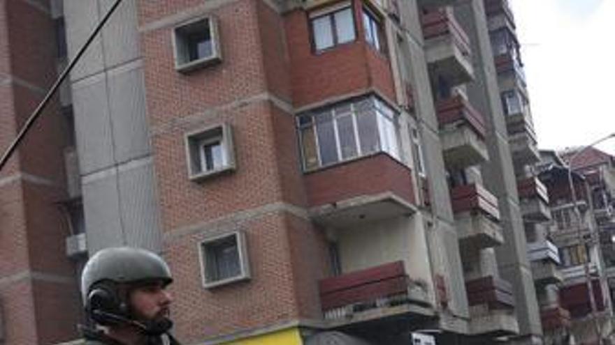Soldado de la otan en Kosovo