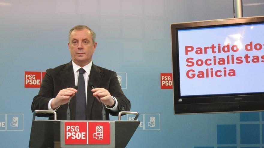 """Pachi Vázquez insiste en que el PSdeG celebrará """"primarias en septiembre"""" y no aclara su futuro por verlo """"irrelevante"""""""