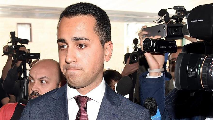 El M5S elige a Di Maio como candidato al primer ministro de Italia
