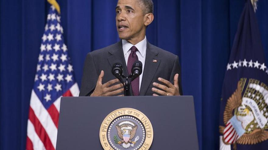 """Obama denuncia un aumento de la actitud """"agresiva"""" de Rusia en Ucrania"""