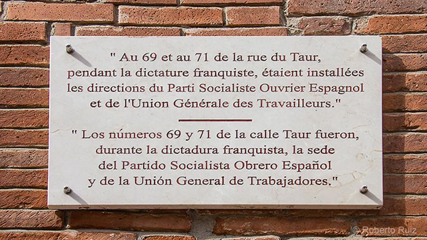 Sede del PSOE y la UGT en Toulouse durante el franquismo