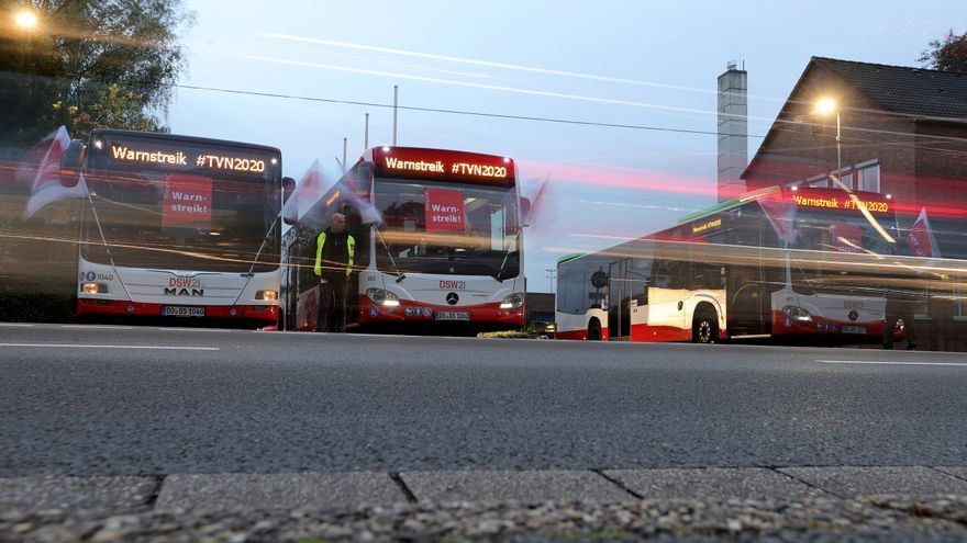 Las huelgas de advertencia paralizan transporte público en Berlín y Baviera