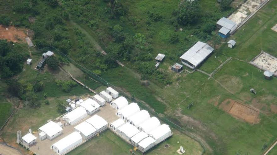 Imagen aérea del Bloque 39. Foto: Rainforest Foundation Norway