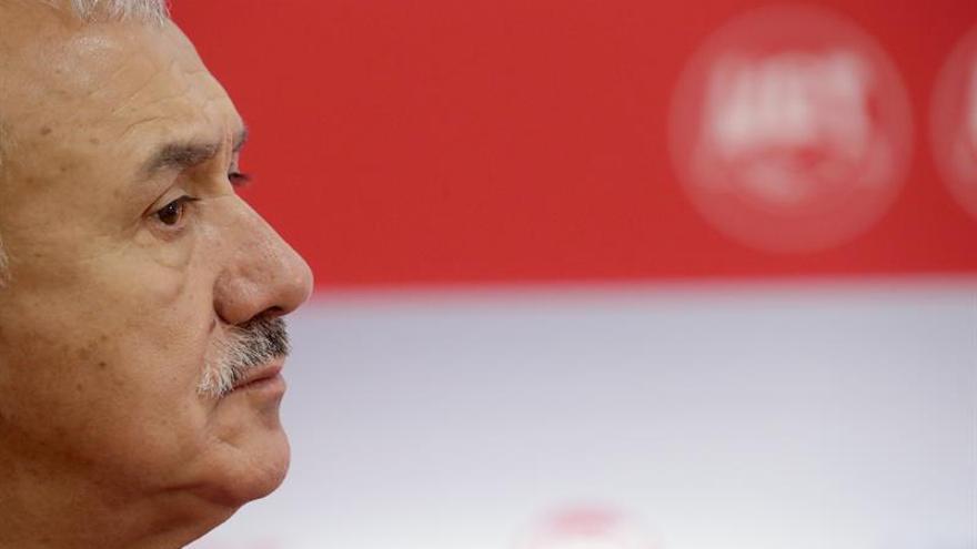 """Pepe Álvarez (UGT): """"si Manuel Llaneza viera esta situación no daría crédito"""""""