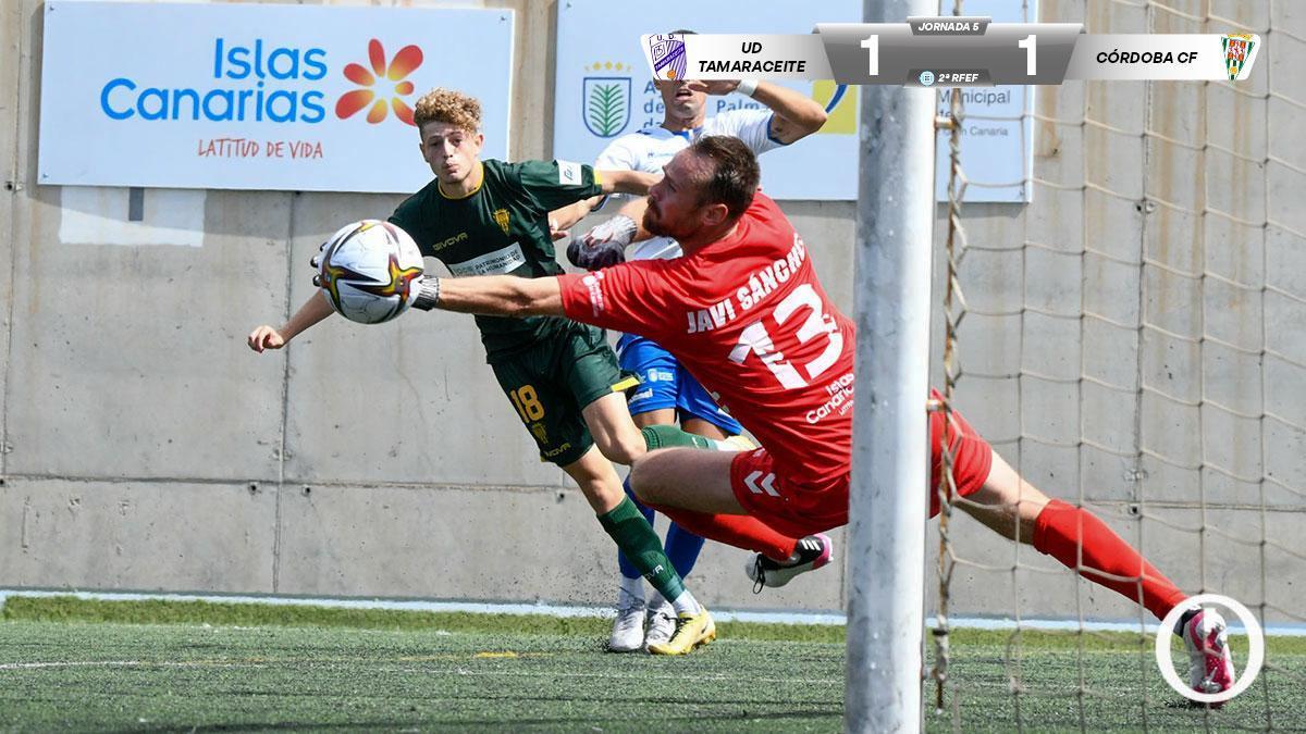 El Córdoba CF empata contra el Tamaraceite