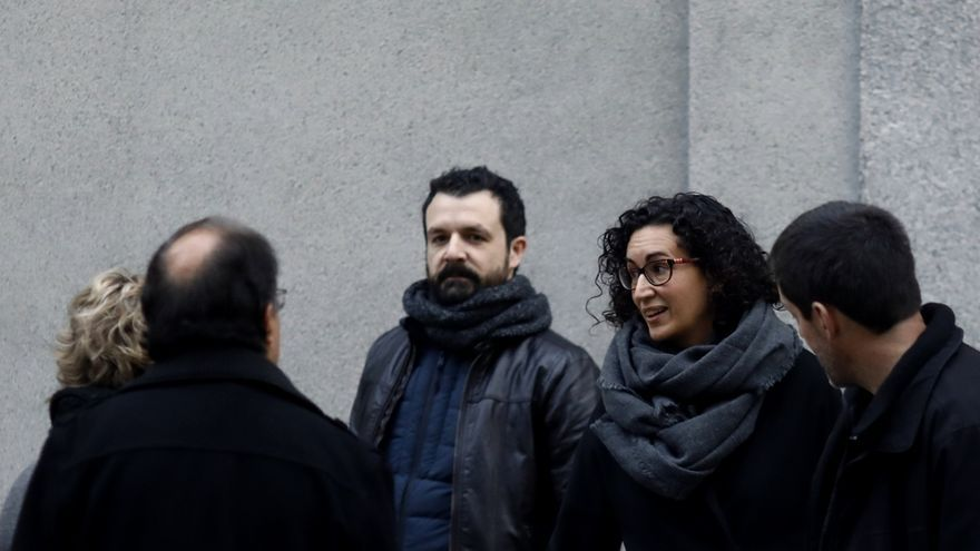 Rovira dice que conocía la hoja de ruta del 'proces' y que intentaba acudir a las reuniones que convocaba Puigdemont
