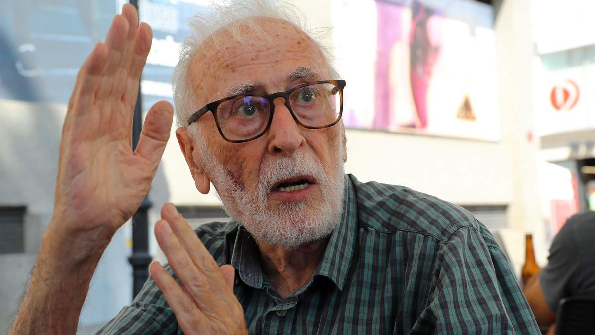 Eduardo Martínez de Pisón, catedrático emérito de Geografía de la Universidad Autónoma de Madrid.