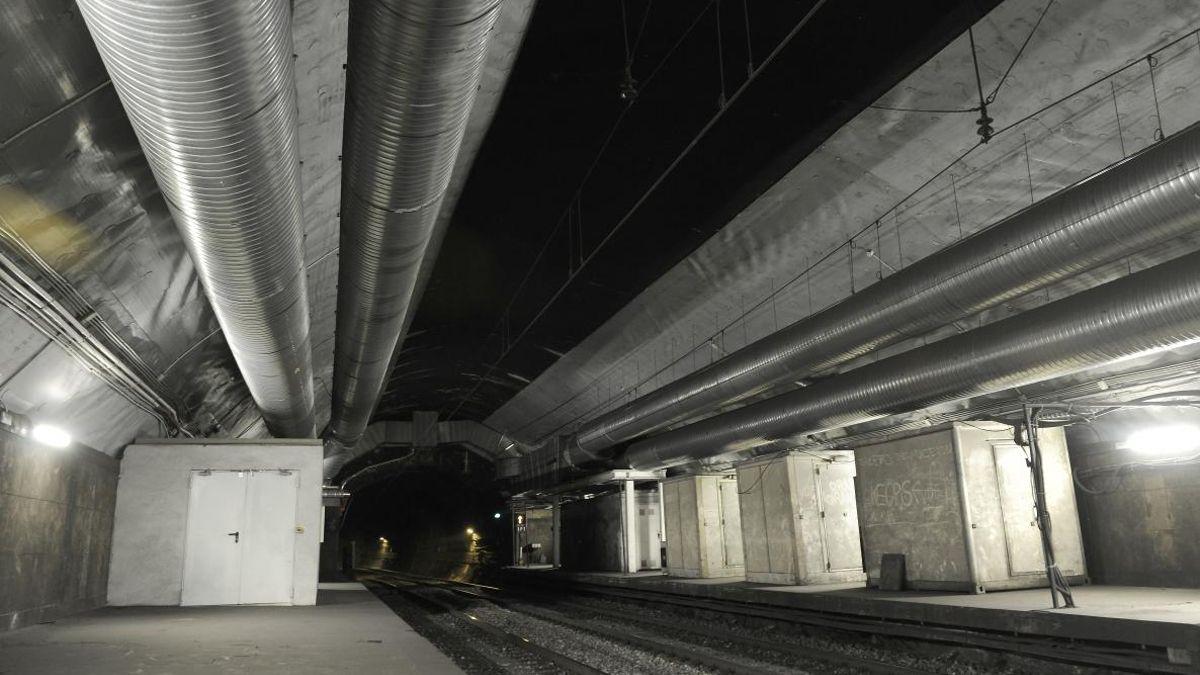 Túnel de la estación de Recoletos | ADIF