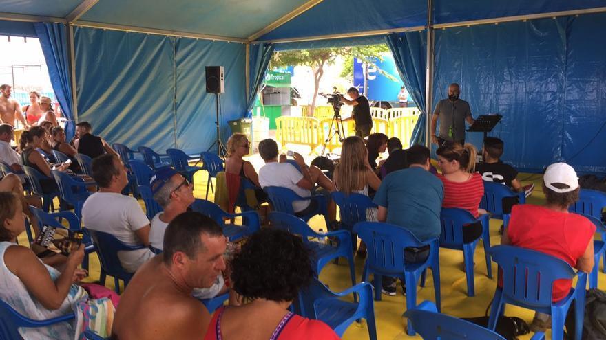 Taller de Sergio Miró en el Maspalomas Costa Canaria Soul Festival