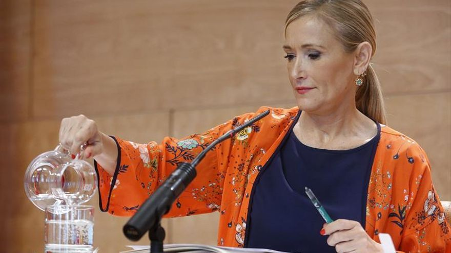 "Cristina Cifuentes: la renuncia de Soria ""me parece bien"""