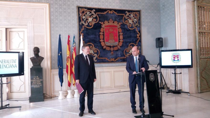 Alcalde de Alicante dice que su candidato para la Secretaría General del PSPV es Ximo Puig