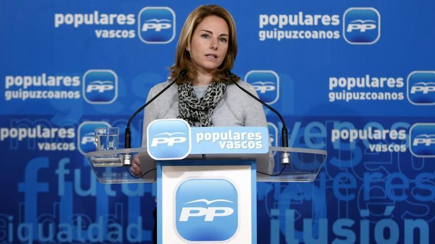"""Arantza Quiroga defiende que el PP """"está donde siempre ha estado"""""""