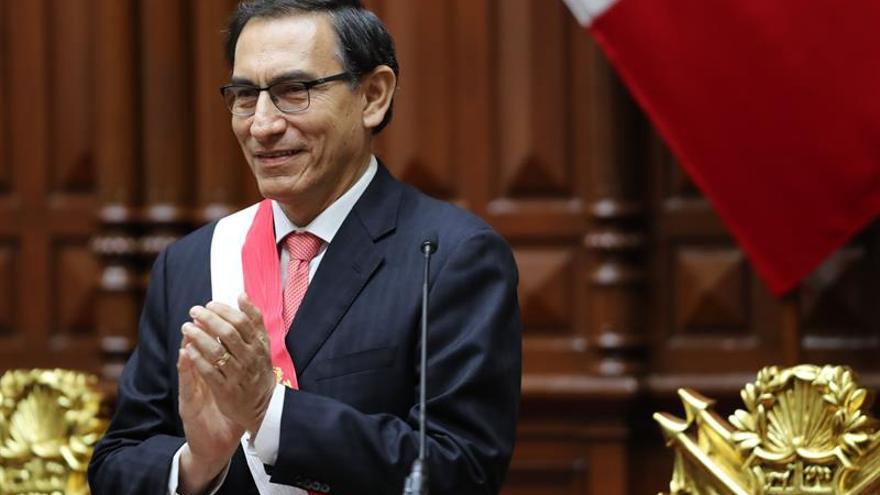 Rajoy felicita al nuevo presidente peruano, Martín Vizcarra