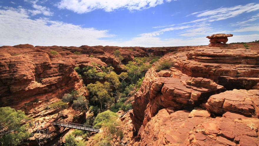 King's Canyon, en el corazón rojo de Australia. Jaqueline Wales
