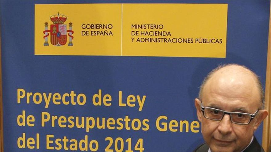 Cristobal Montoro, ministro de Hacienda