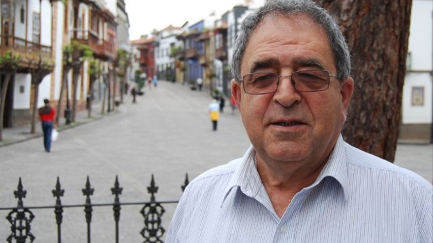 Juan de Dios Ramos, alcalde en funciones del Ayuntamiento de Teror.