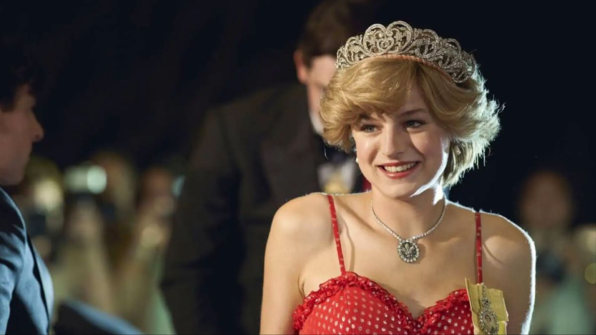 Emma Corrin en 'The Crown'