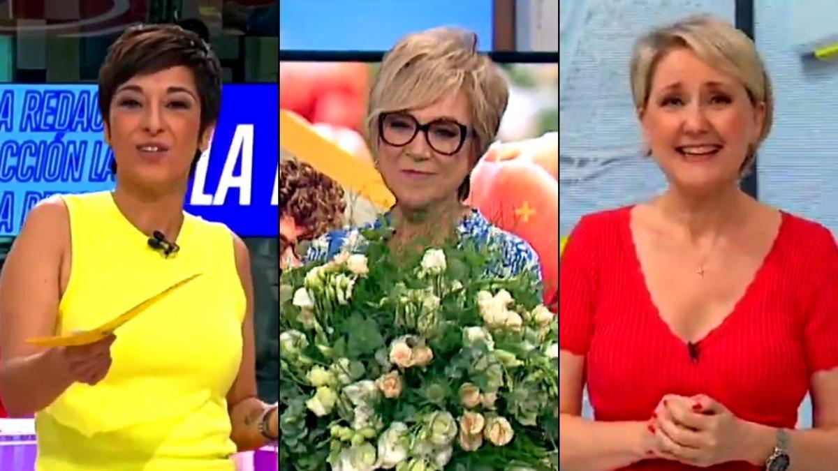 Adela González, Inés Ballester e Inmaculada Galván