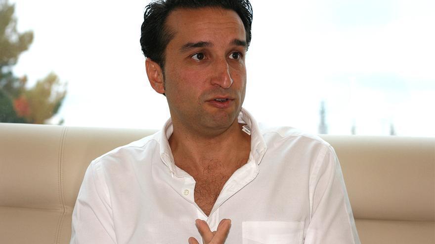 Ricardo Cabezas, en un momento de la entrevista