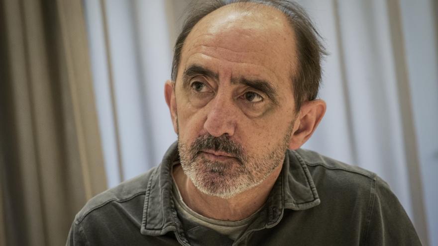 Daniel Innerarity, catedrático de Filosofía Política y Social, durante la entrevista