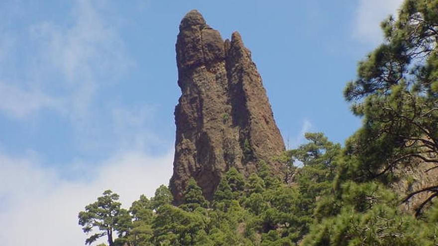 En la imagen, el imponente Roque Idafe. Foto: CARLOS CECILIO RODRÍGUEZ