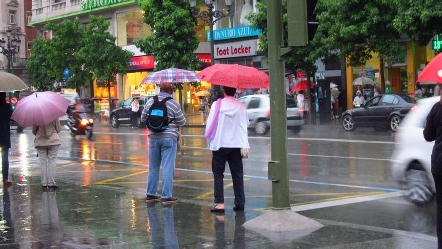 Santander sigue siendo la ciudad donde más ha llovido