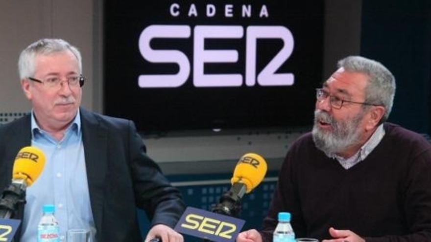 """Méndez pide a UGT-A que estudie """"si hay responsabilidad a depurar"""" y denuncia intención de tapar el caso Bárcenas"""