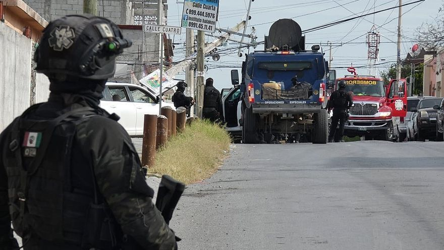Enfrentamiento entre cárteles deja nueve muertos en el noreste de México