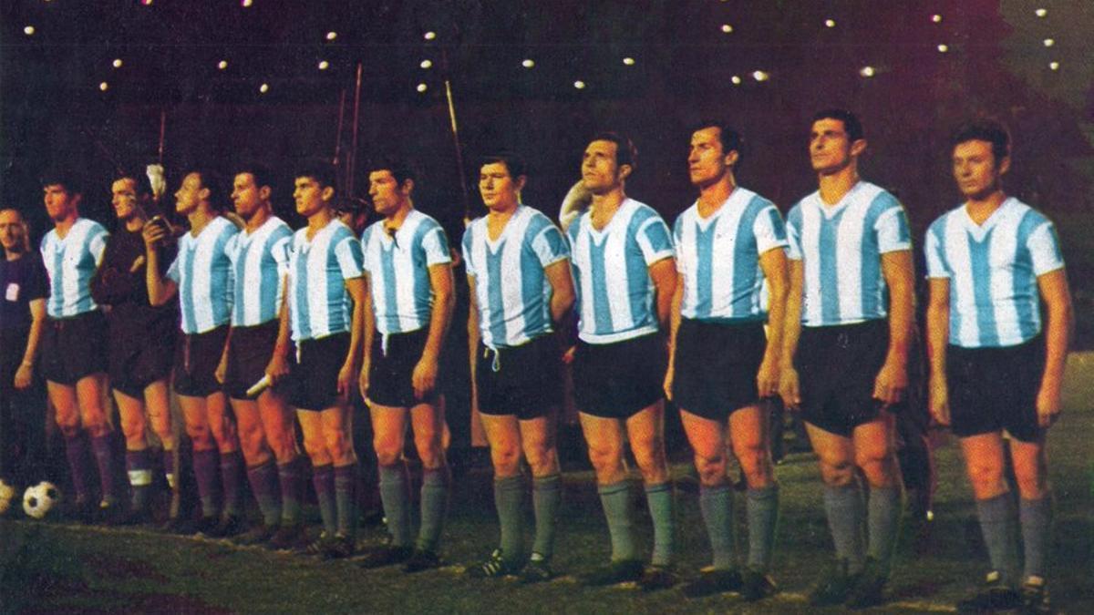 Argentina, campeón en el Maracaná en 1964.