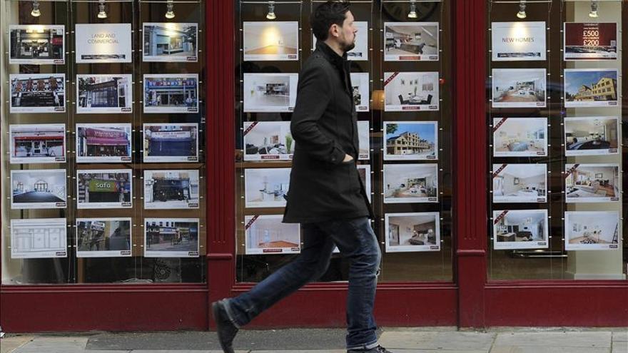 Las hipotecas caen un 16 por ciento en un año en el Reino Unido