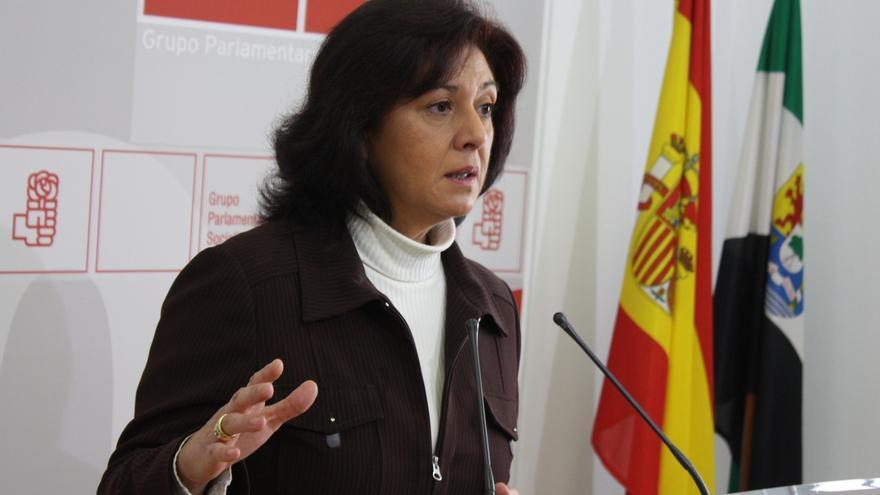 """Ascensión Murillo (PSOE), """"convencida"""" de que la filtración de los viajes de Monago parte del PP"""