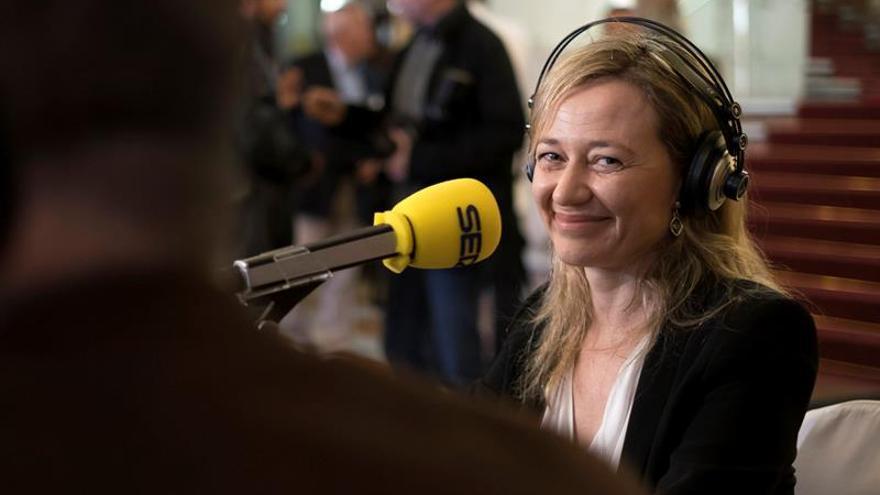 La cabeza de lista de Podemos por la provincia de Las Palmas, la magistrada en excedencia Victoria Rosell