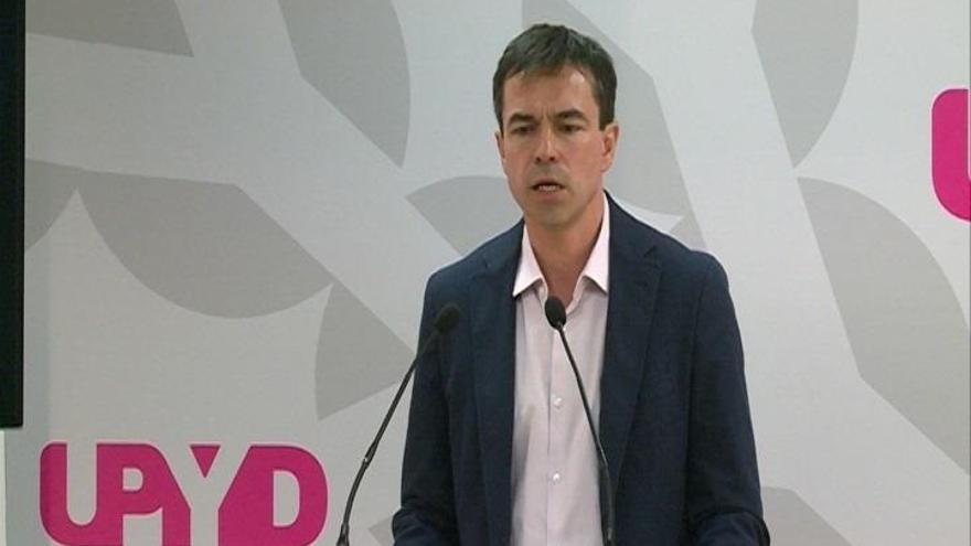 """Herzog (UPyD) afirma que el Gobierno """"va tarde"""" ante la resolución de ruptura con España del Parlament catalán"""