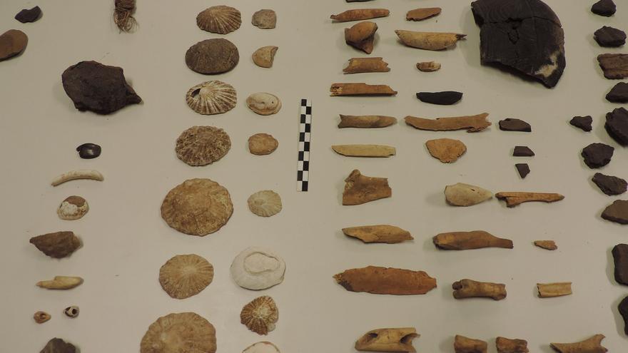 La donación está compuesta por 635 evidencias arqueológicas.