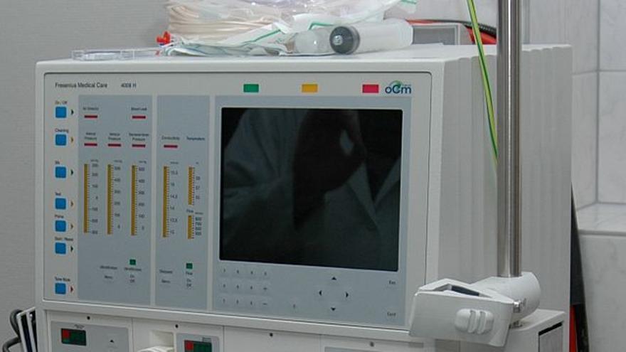 Monitor de hemodiálisis.