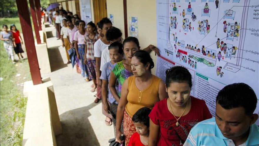 Los observadores se muestran optimistas con las elecciones en Birmania