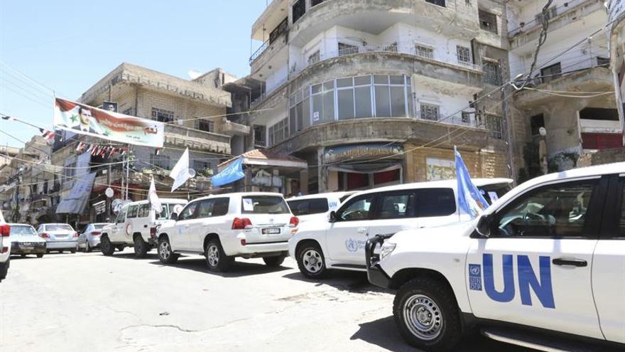 Rebeldes y Gobierno llegan a un principio de acuerdo de alto fuego en el sur Damasco