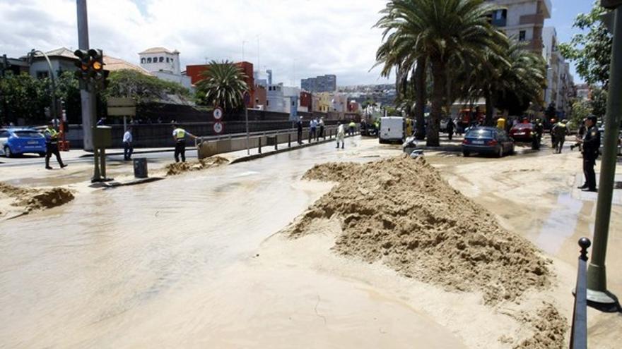 De la inundación en Julio Luengo #4