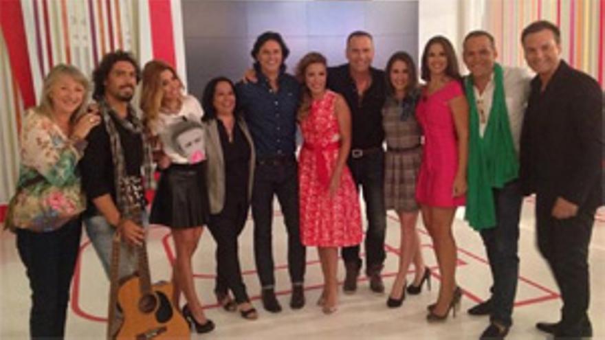 Toñi Moreno reunió por sorpresa a los 'triunfitos' el día del estreno de 'GH'