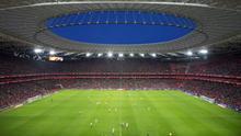 Imagen de archivo del estadio de San Mamés, en Bilbao.