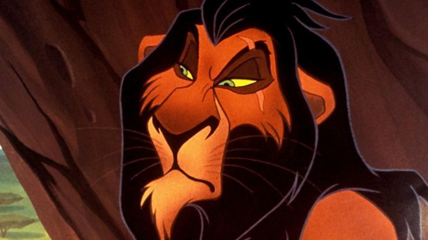 """Scar, personaje de """"El rey león"""""""