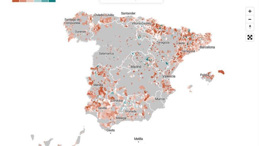La participación en los feudos de la izquierda y la derecha: qué ha pasado donde cada bloque arrasó en el 28A