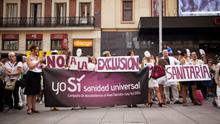 Yo Sí Sanidad Universal lleva a juicio la exclusión sanitaria